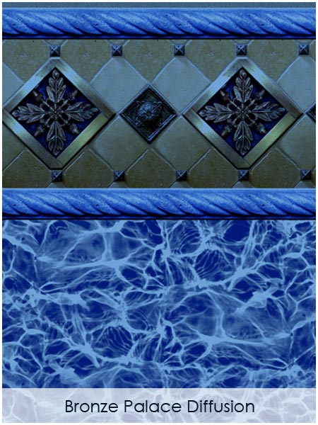 Bronze Palace Blue Diffusion